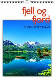 Veggkalender Fjell Og Fjord