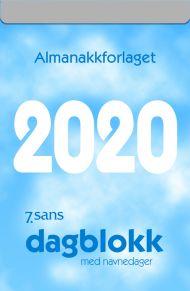 7.Sans Dagblokk M/Navnedager 2020