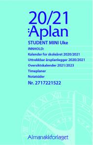Aplan Student Mini Uke årssett 20/21
