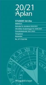 Aplan Student A6 Uke årssett 20/21