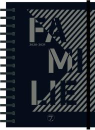 Kalender 7.sans Familieplanlegger A5 20/21