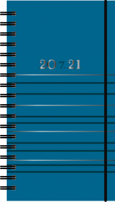 Kalender 7.sans Studium, kartong, spiralisert 20/2