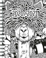 Kalender 7.sans Dagplan Zenart A6 20/21