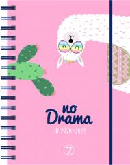 Kalender 7.sans Dagplan Lama Drama A6 20/21