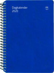 7.Sans Dagkalender Plast Blå 2020