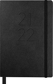 Kalender Student 21/22 Grieg Pocket A7 Uke, Sort