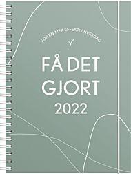 Kalender 2022 Få det gjort A5 uke grønn