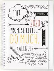 Ukekalender Grieg A5 Doodle 2020