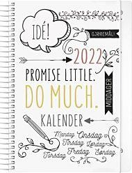 Kalender 2022 Doodle A5 uke