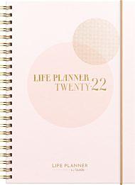 Kalender 2022 Life Planner Pink A5 uke
