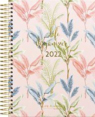 Kalender 2022 Life Organizer C5 palmer uke