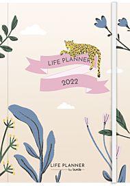 Kalender 2022 Life Planner A6 leopard uke