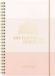 Kalender 2022 Life Planner Pink II A5 uke