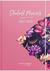 Kalender 21/22 Grieg Student Planner A5 Uke, Rosa