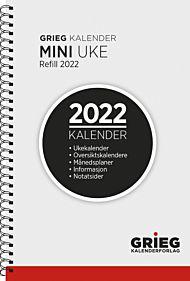 Kalender 2022 Mini refill uke