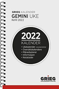 Kalender 2022 Gemini refill uke