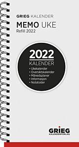 Kalender 2022 Memo refill uke