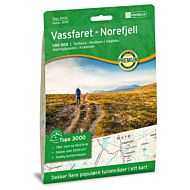 Vassfaret-Norefjell 1:50 000