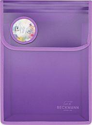 Mappe Med Borrelås A4 Purple Beckmann