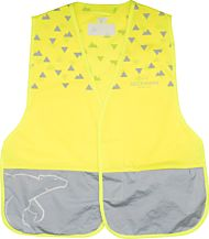 B-Seen & Safe Vest Yellow
