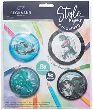 Buttonspakke Black Beckmann