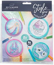 Buttonspakke Mint Beckmann