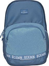 Skolesekk 2.7-kl Blue Glitter Sport Junior 30L Bec