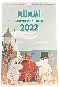 Aktivitetskalender 2022 23x34cm Mummi Retro Design