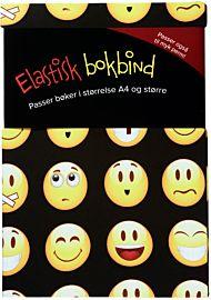Bokbind Elastisk til Softcover/Større Bøker Emoji