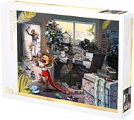 Puslespill 1000 Lisa Aisato Hjemmekontor
