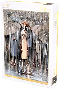 Puslespill 500 Lisa Aisato Regn