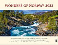 Kalender 2022 Wonders Of Norway 225x174mm