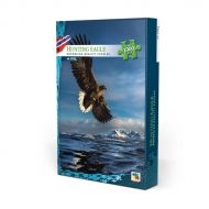 Puslespill 1000 Norge Hunting Eagle