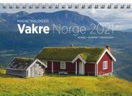 Magnetkalender 2021 Vakre Norge Måned