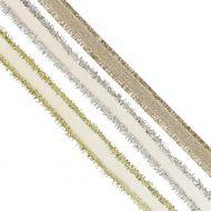 Gavebånd Metallic Edged Ribbons 3M X3