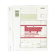 Regningsblokk A5 M/2 Kopier 3X50 Bl.Selvkop.