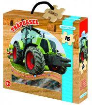 Trepuslespill Traktor 15 Biter