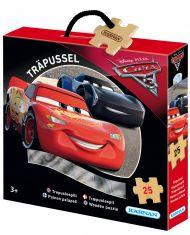 Trepuslespill WD Cars 25 Biter