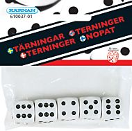 5 Terninger I Pose, 15 Mm