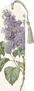 Bokmerke med dusk Lavendel 5X17cm