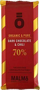 Sjokolade Ö Mørk Sjokolade Chili 55g