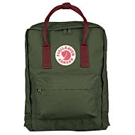 Sekk Fjällräven Kånken Forest Green-Ox Red