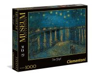 Puslespill 1000 Van Gogh Starry Night Clementoni