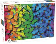 Puslespill 500 Rainbow Butterfly Tactic