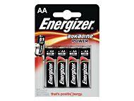 Batteri Energizer Alka Power AA/LR6 (4)
