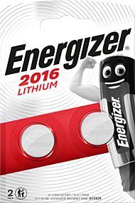 Batteri Energizer Lithium CR2016 (2)