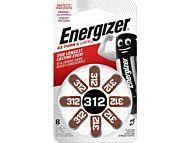 Batteri Energizer Høreapparat ZA 312 (8)