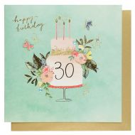Systemkort PC 30 Happy Bday Cake Butterflies