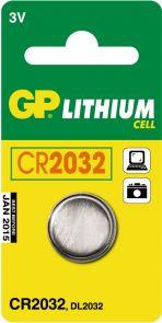 Batteri GP Lithium CR2032 3V