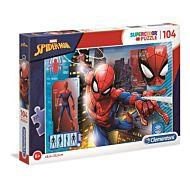 Puslespill 104 Spider-Man Clementoni